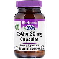 Коэнзим Q10 30мг, Bluebonnet Nutrition, 90 гелевых капсул