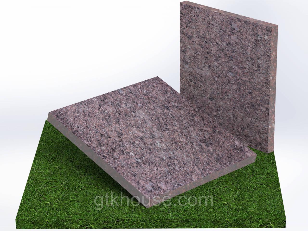 Плитка гранитная термообработанная Токовская (Размер 300×300)