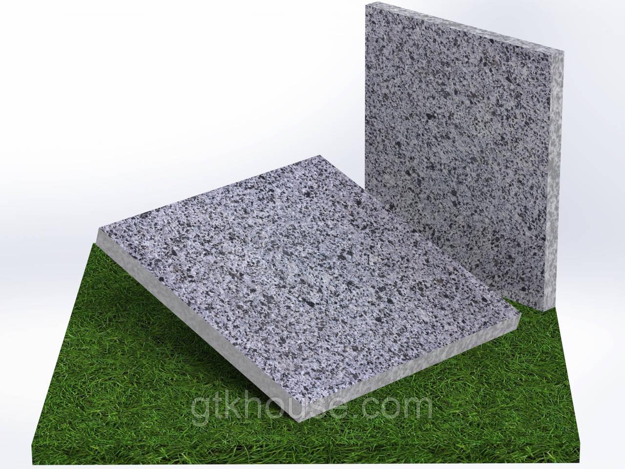 Плитка гранитная термообработанная Покостовская (Размер 300×300)