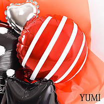 Букет Happy birthday в красно-черных цветах для мужчины, фото 2