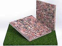 Плитка гранітна термооброблена Капустинська (Розмір 300×300), фото 1