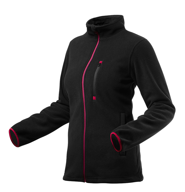 Флисовая куртка женская 80500 , черного цвета NEO TOOLS S