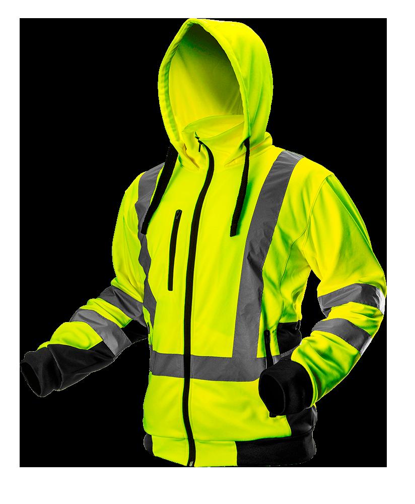Куртка рабочая сигнальная 81745 желтого цвета NEO TOOLS L