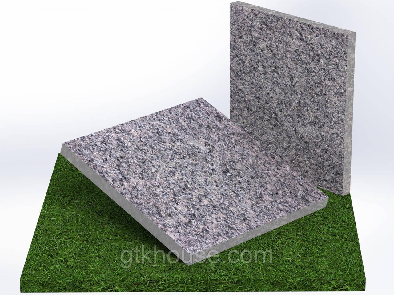 Плитка гранитная термообработанная  Старобабанинская (Размер 300×300)