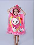 Полотенце-пончо детское 60*120, фото 6