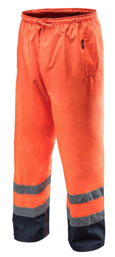 Сигнальные водостойкие рабочие брюки 81771, оранжевого цвета NEO TOOLS M