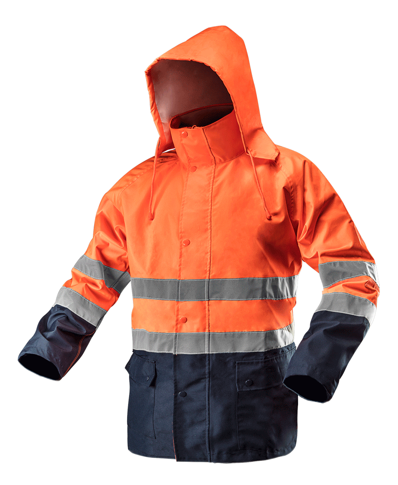 Сигнальная водостойкая рабочая куртка 81721 NEO TOOLS XXXL