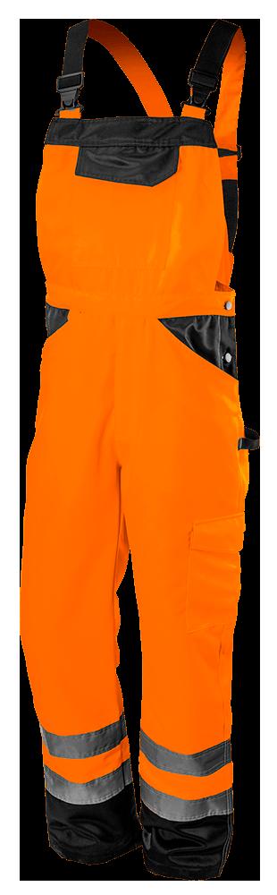 Полукомбинезон рабочий 81778, сигнальный, оранжевого цвета NEO TOOLS XL