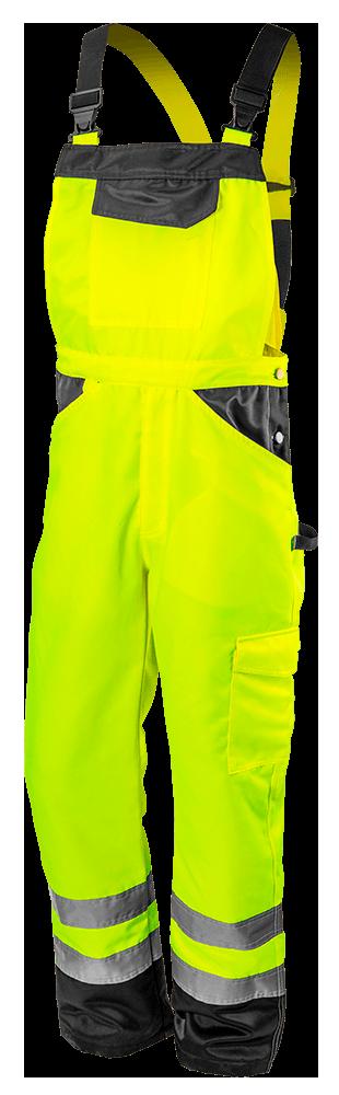 Полукомбинезон рабочий 81777, сигнальный, желтого цвета NEO TOOLS