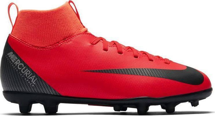 Детские бутсы Nike JR Mercurial Superfly VI Club CR7 FG/MG (AJ3115-600) Оригинал