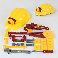 Набор инструментов 0718 С (60/2) каска, тиски, в сетке