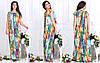 Легкое летнее платье свободного кроя 46-48, 50-52, 54-56, 58-60, фото 2