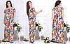 Легкое летнее платье свободного кроя 46-48, 50-52, 54-56, 58-60, фото 3