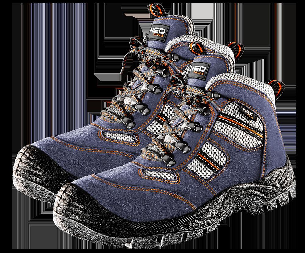 Рабочие ботинки 82040, замшевые NEO TOOLS 46