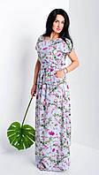 Женское летнее платье в пол, фото 1