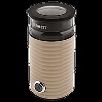 Импульсная кофемолка Scarlett SC-CG44502 мощность 160 Вт Вместимость 60 г, фото 1