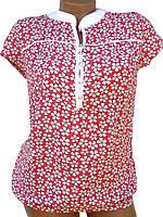 Женские блузки в цветочек, фото 1