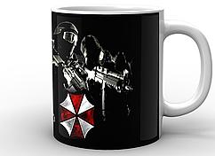 Кружка GeekLand белая  Resident Evil Обитель зла корпорация RE.02.003