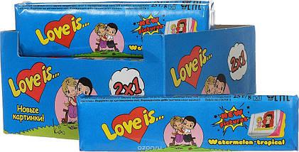 Жевательные конфеты Love is Арбуз тропик, фото 2