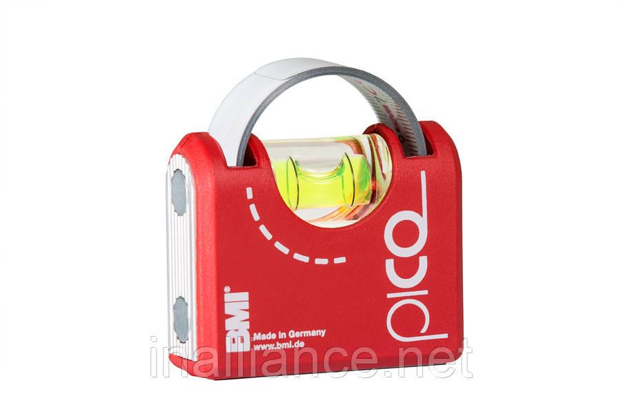 Рулетка вимірювальна, рівень магнітний, лінійка; 1 метр, 3 в 1 Pico Magnet BMI 42610041020M