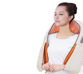 Роликовий масажер для шиї і спини Massager of Neck Kneading