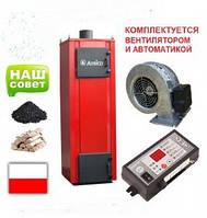 Твердотопливный котел длительного горения Amica Time 20 кВт