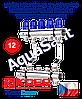 """Koer KR.1100-12 1""""x12 WAYS коллекторный блок с термостатическими клапанами"""