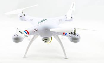 Квадрокоптер 1million c WiFi камерой Белый