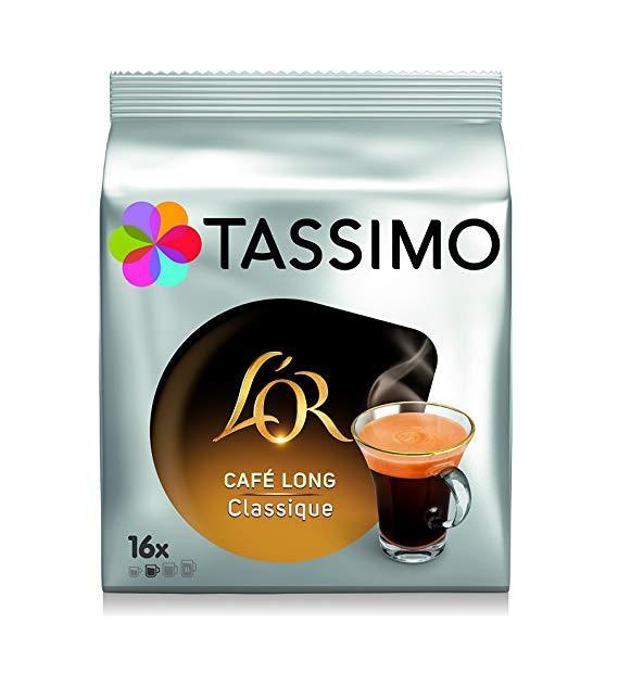 Кофе в капсулах Tassimo L'or Cafe Long Classique 16 порций. Германия (