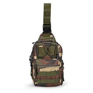 Тактическая военная сумка-рюкзак OXFORD 600D Камуфляж