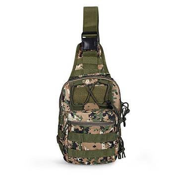 Тактическая военная сумка-рюкзак OXFORD 600D Светло-зеленый