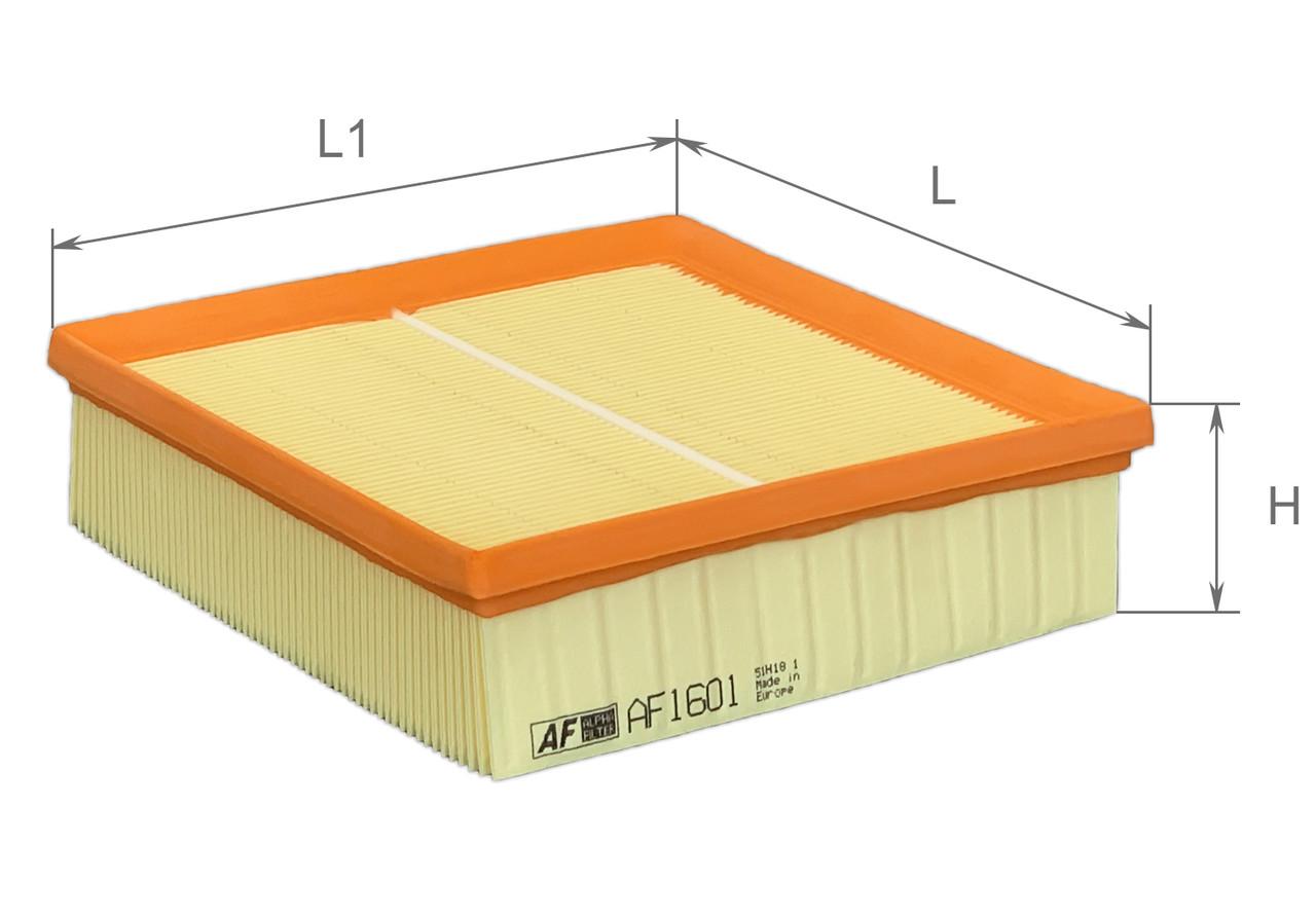 Фильтр воздушный ALFA Filter (ВАЗ 2108 - 2115, 21214, 2123), фото 1