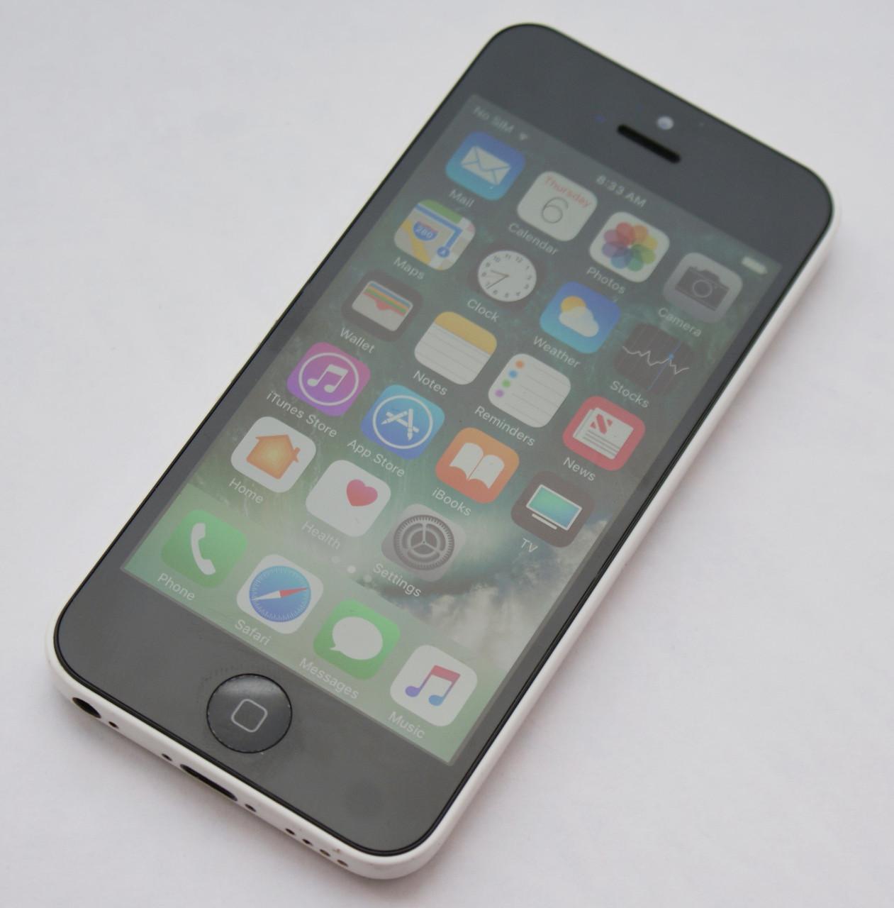 Apple iPhone 5C 32GB White Neverlock