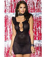 Соблазнительное платье Diamond chemise black