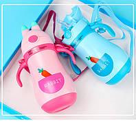 Детский термос Rabbit 300мл, пробка с носиком-поилкой, отлично подойдет для детей