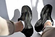 Женские кроссовки Destra с черной натуральной кожи\замши, фото 3