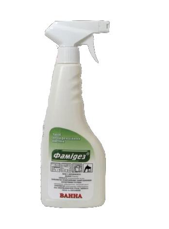 Средство для мытья ванной Фамидез Ванна-кислотний 0.5л