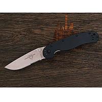 Универсальный Складной нож RAT-1 от Ontario из высоколегированной нержавеющей стали RAT-1 Serration Оригинал