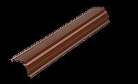 Планка торцевая №1 длина изделия (2м) Polyester Zhongwei, толщина 0,45