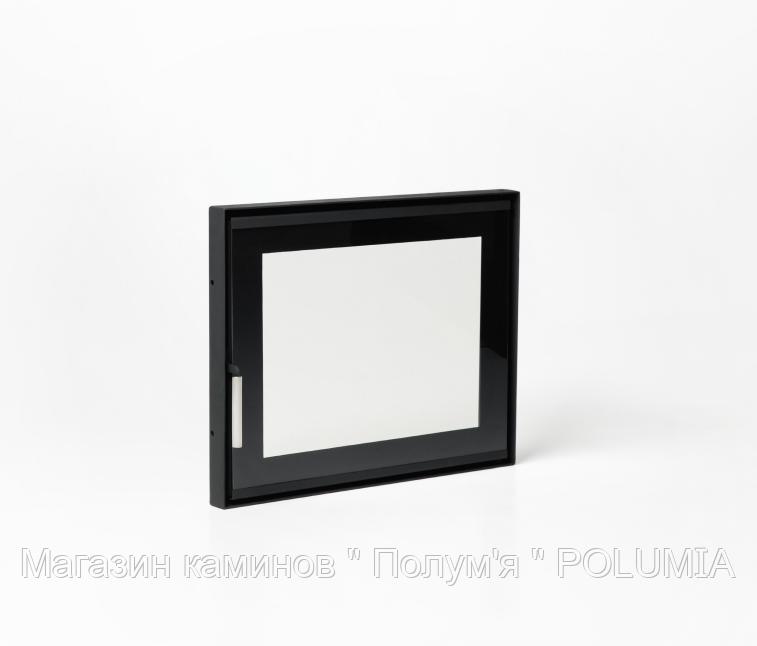 "Дверца для камина Ognevoda 600х470 мм, стекло ""плазма""(нар), ручка Lite"