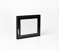 """Дверца для камина Ognevoda 600х470 мм, стекло """"плазма""""(нар), ручка Lite, фото 1"""