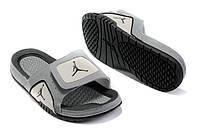 Шлепанцы Air Jordan Hydro 5 Grey/Black, фото 1