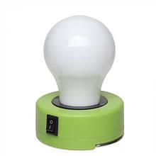 Лампочка пластиковая с встроенным магнитом и с металлическим карабином, розница + опт