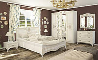 Спальня Милан 4Д + каркас ламель