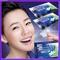 Отбеливание зубов -полоски для отбеливания зубов