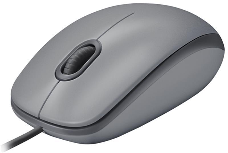 Мышь Logitech M110 Silent (910-005490) Mid Grey USB