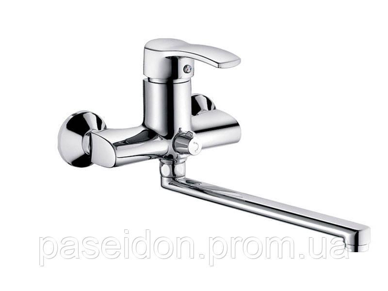 Смеситель для ванны HAIBA FOCUS Chr-006 EURO