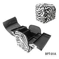 Сумка BPT-01A для хранения и транспортировки принадлежностей мастеров («зебра»)