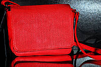 Маленькая терракотовая сумочка через плечо