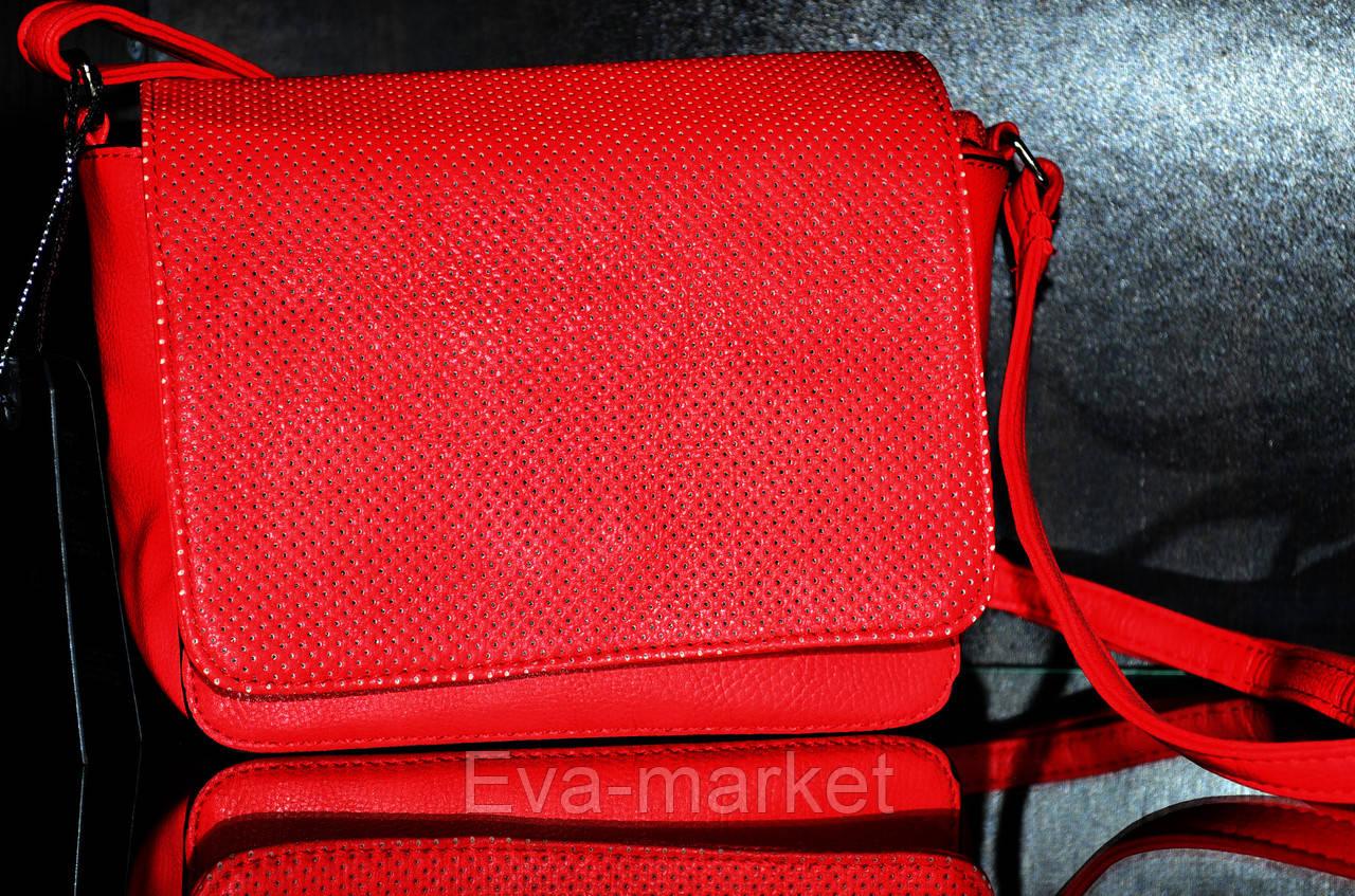 Маленькая терракотовая сумочка через плечо - Eva-market в Запорожской области